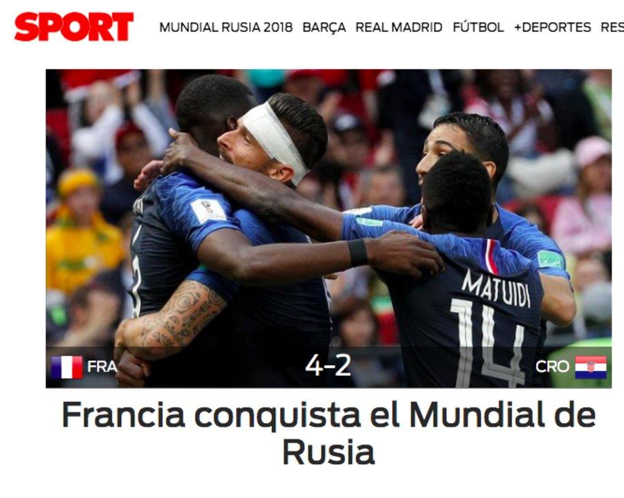 Diario Sport, Barcelona.