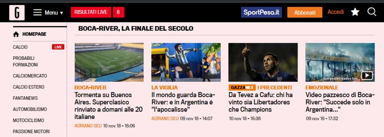 Gazzetta dello Sport - Italia