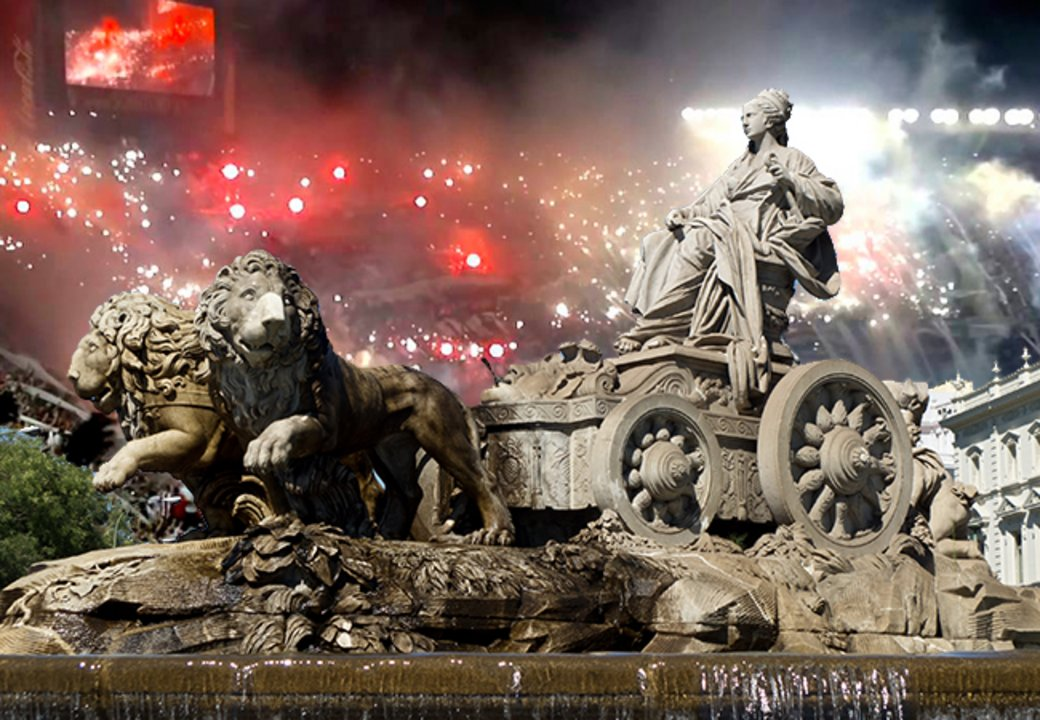 El epicentro de los festejos del Real Madrid será cedido a River, en caso de coronarse.