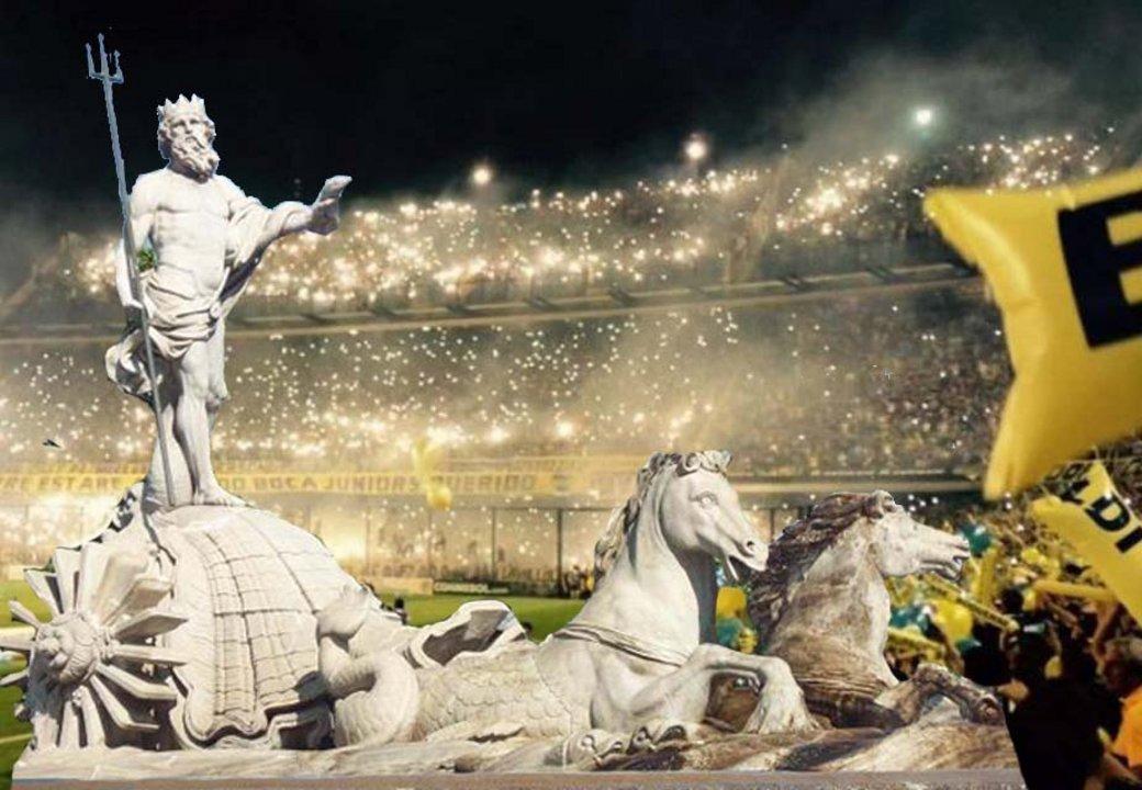 Boca celebrará en dónde lo hace el Atlético de Madrid en caso de alcanzar la Séptima.