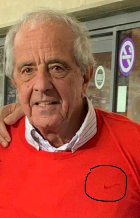 La pipa en el suéter rojo, símbolo de las victorias de River.