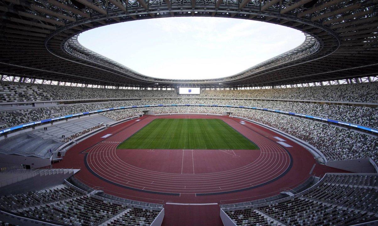 El nuevo estadio olímpico de Tokio