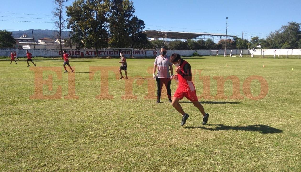 Club Gorriti y la vuelta a los entrenamientos. Foto: El Tribuno.