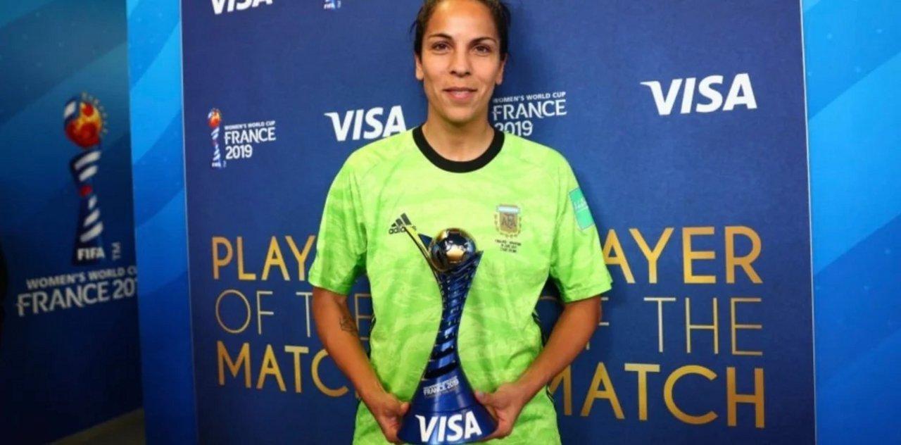 Pese a la derrota, Vanina fue elegida como MVP del partido ante Inglaterra