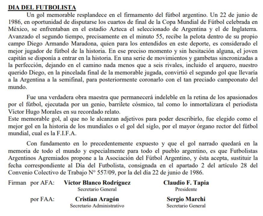 Boletín AFA