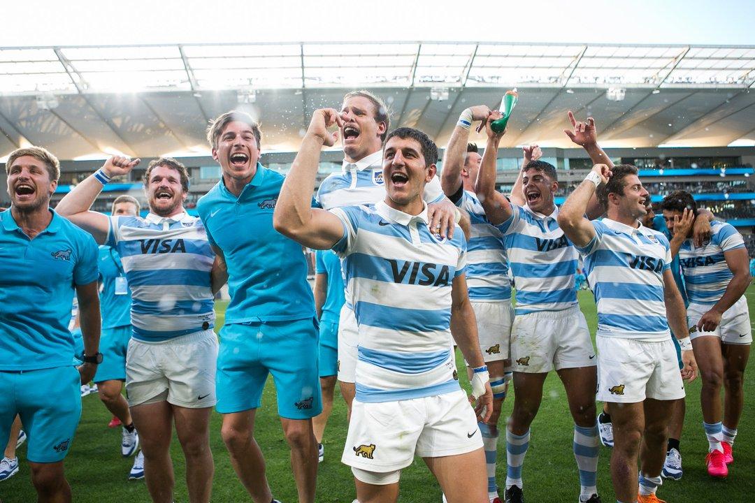 Postales de la histórica victoria de Los Pumas