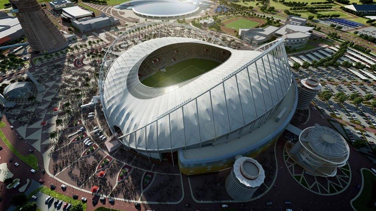 El estadio principal de Qatar, ubicado en Doha