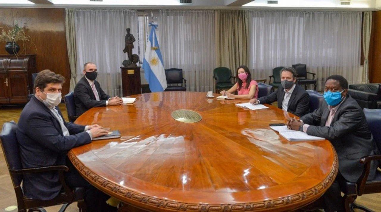 La misión del FMI en una de las últimas reuniones con la cartera de Economía