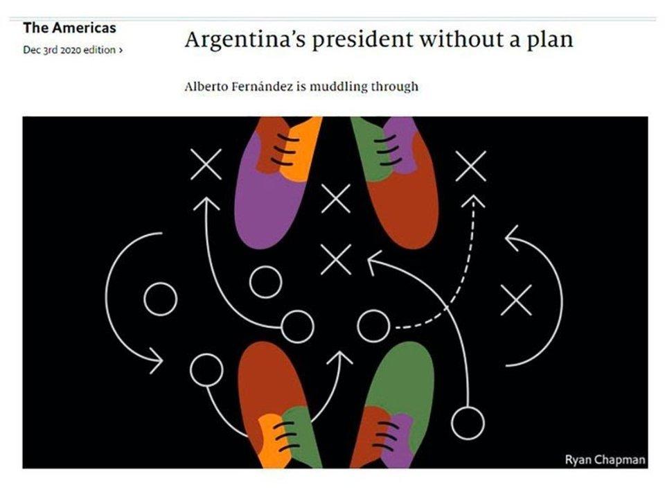 """La dura editorial de """"The Economist"""" sobre Alberto Fernández como un """"presidente sin plan"""""""