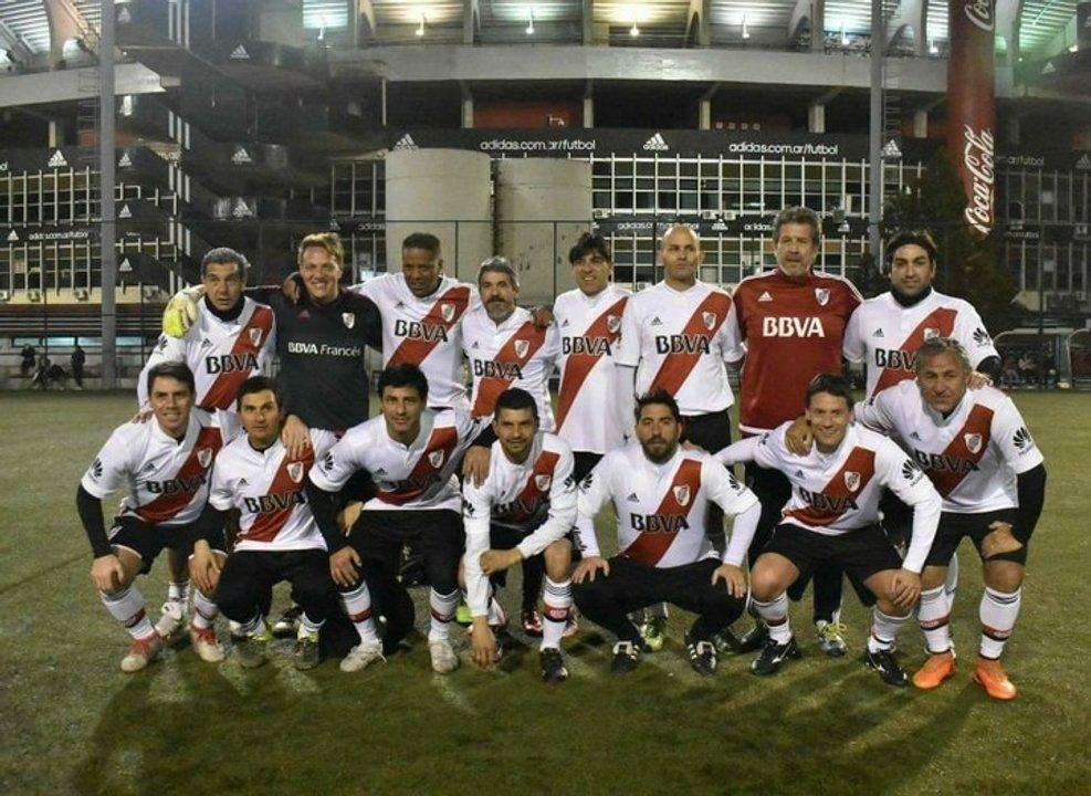 El fútbol senior de River y el abrazo entre Ortega y Severino