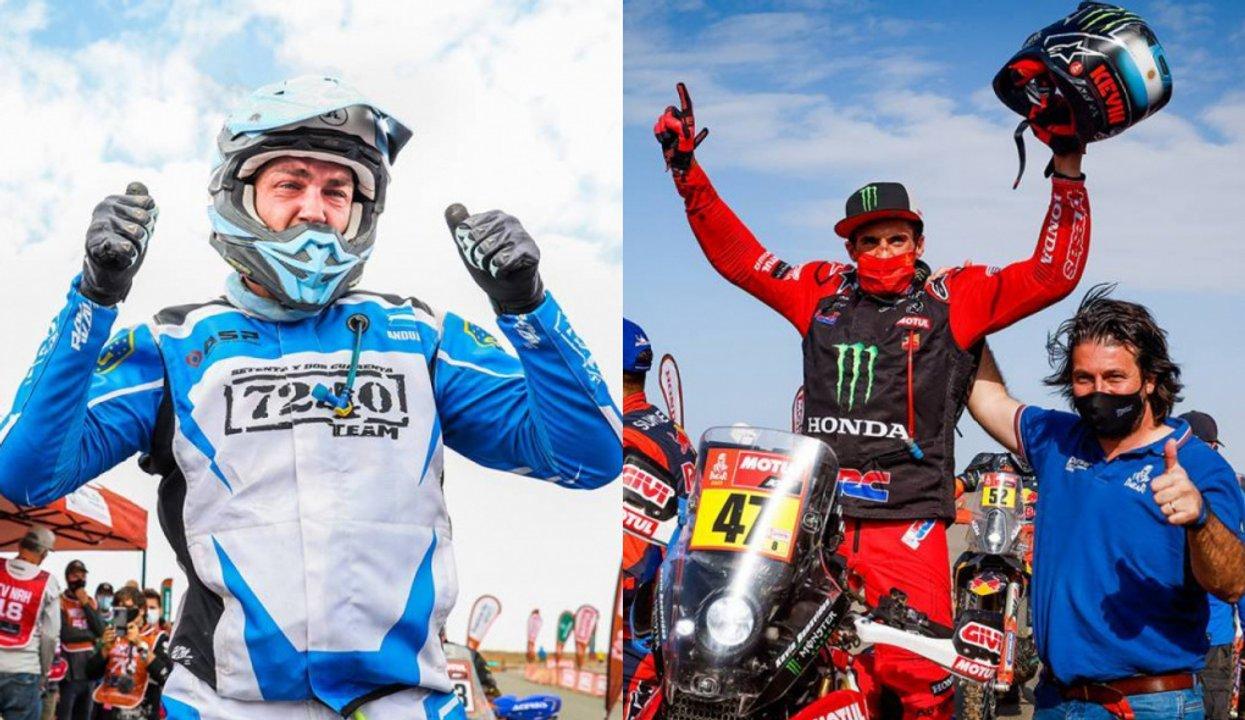 Dos campeones argentinos en el Dakar: Kevin Benavides en motos y Manuel  Andújar en quads - Doble Amarilla