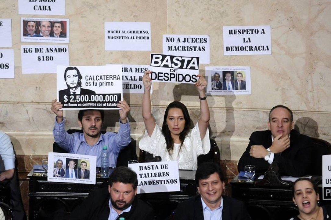 Primer discurso de Macri: Ajuste y despidos en el centro de la escena
