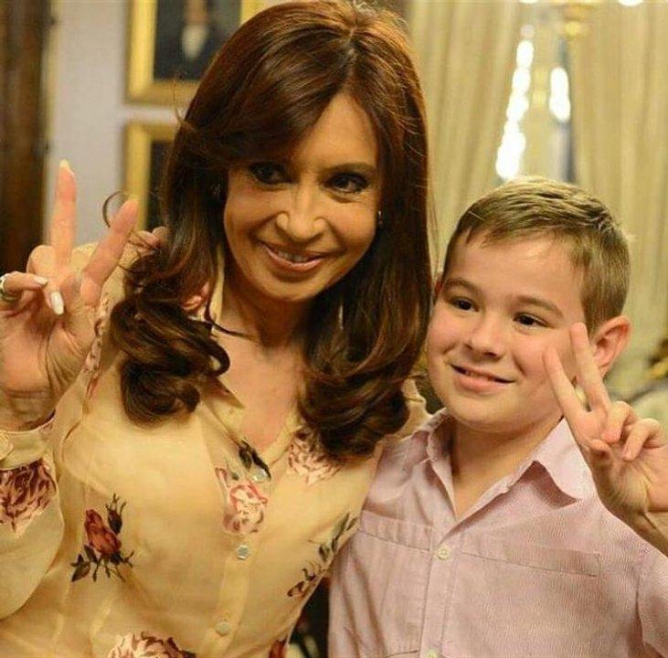 El día que conoció a Cristina Kirchner, cuando era presidenta