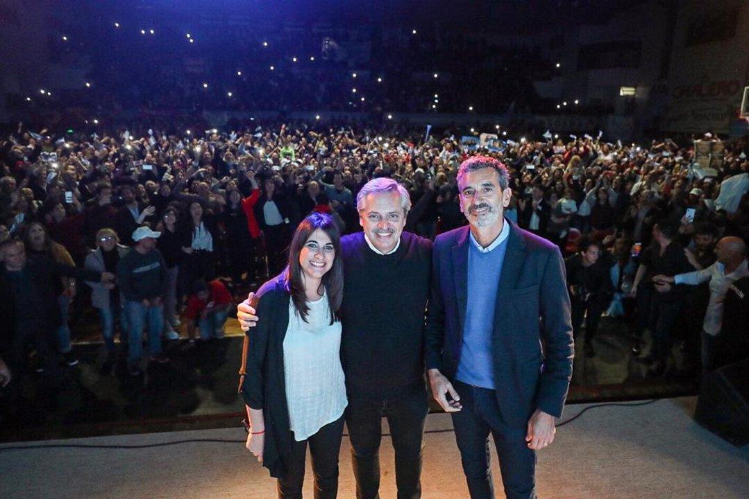 En 4 de octubre del 2019 Randazzo acompañó a Fernández  en una visita a Chivilcoy. Pese a esos gestos, finalmente quedó fuera del Frente de Todos.