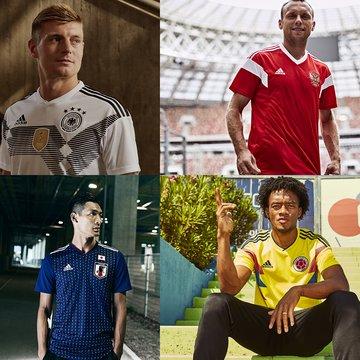 53e7b1e2b42c3 Adidas presentó varias de sus camisetas para Rusia 2018 - Doble Amarilla